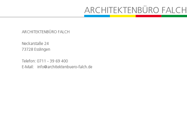 Architekten Esslingen stadt wallmerkirche de